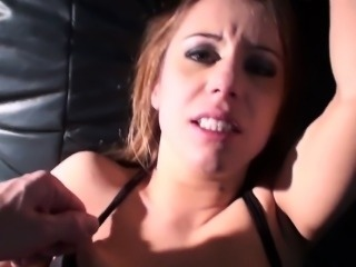 Submissive euro anally disciplined in POV