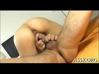 Awesome japanese anal toying