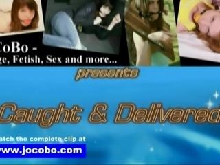 Caught & Delivered - Jocobo.com - Tied up blowjob oral fuck