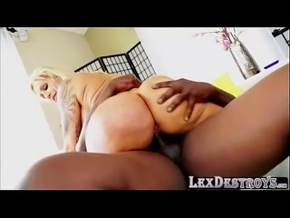 Gonzo and monster tits Ryan Conner gets fucked by Lexington Steele