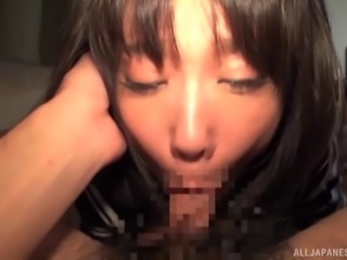 Kaho Shibuya's dripping wet cunt is all a fellow wants to feel