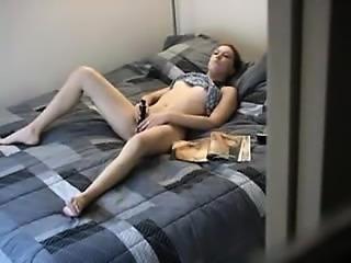 Alone Athome Dildo Masturbate