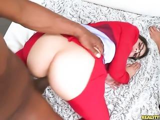Valentina Nappi with bubbly booty is full of