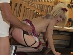 Nora Barcelona wants her car mechanic to be rough with her