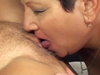 Lucky dude gets to fuck a pair of sexy mature sluts
