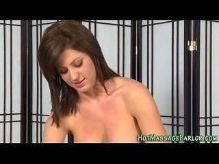 Perky tits masseuse spunk