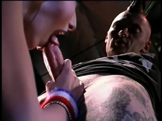 Tattooed punk guy wants to feel a hot babe's warm pussy