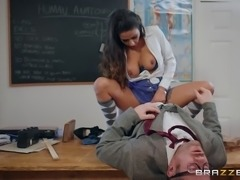 Hot ass student gets ravished doggystyle by her teacher