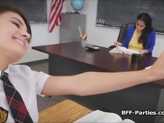 BFFs after school detention