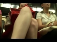 Another good amateur upskirt compilation with random ladies