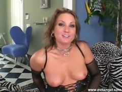 Sexy anal hooker gets her tight ass banged and face creamed in threesome