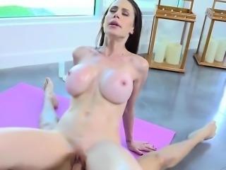 Mature Slut Mckenzie Lee Rides Hung Yoga Instructor