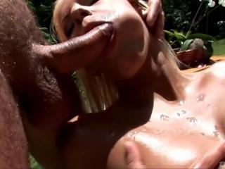 Formidable threesome sex session with gorgeous Boroka Bolls