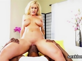 Pornstar hottie gets her anal drilled with monster cock
