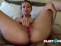Jet Janssen Takes Off and Cums With Her Pink Dildo