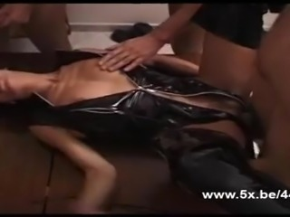 He shared his wife in hot gangbang