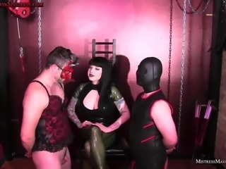Mistress Maya bisex JOI discipline of male sluts