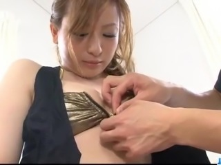Creampie to end Asian milf, Yukina Momose, dirty porn show