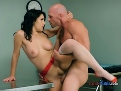 Bombshell Doctor Valentina Nappi Gets Her Pussy Poked