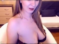 www.facetuube.com Russian webcam model teaseing
