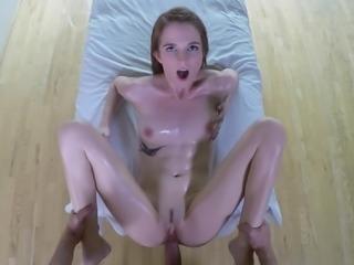 Oily butt bouncing