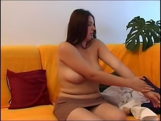 chubby hottie plays for you (part 1)