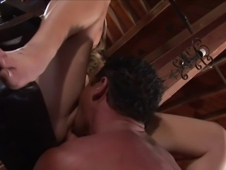 Giseli's muscular partner is here to satisfy her anal needs