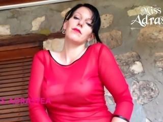 Miss Adrastea hot Pantyhose and big Tits