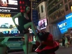 Public Humiliation of a male slave 2