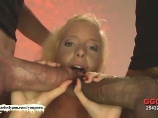 Cute Lucy loves Monster Cocks - German Goo Girls
