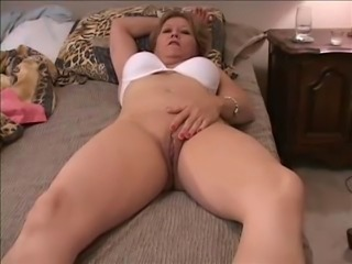 Mom has panties