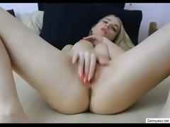 Cumming while masturbating on cam  Free Dating here Getmyass.net