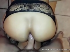 Real amateur doggystyle with a bitch met on internet