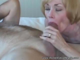 Grannie Suck Fuck and Gooey Facial