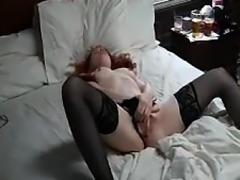 Caught masturbating loud