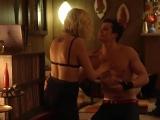 Sexy blonde has a blast being seduced by her hot lover