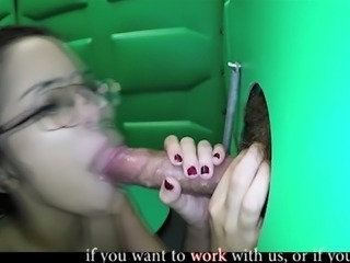 she like suck some cock in toilet     by oopscams