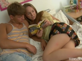 Another Russian teen is ready for the deepest kind of penetration