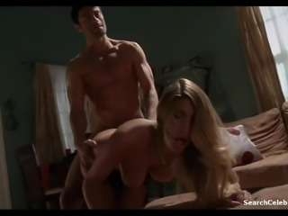 Blonde with an amazing body rides a fortunate man's boner