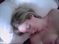 Horny Wife Stroking Her Friends Cock Until Huge Facial