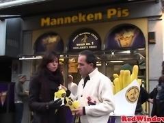 Mature Dutch hooker pussyfucked by tourist