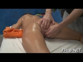 Sweet anal opening is nailed