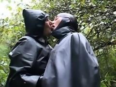 Rainwear Sex Fetish Cum