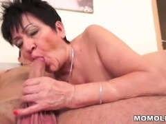 Cockhungry grandma fucked hard