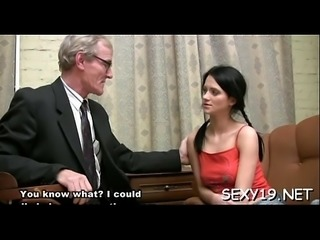 Delightful anal job with teacher