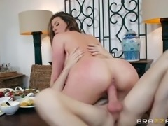 Lustful big tit milf Kendra Lust prefers her daughter's young boyfriends