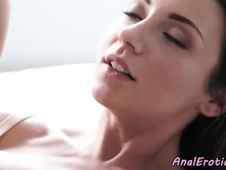 Sensual assfucking and creaming for eurobabe