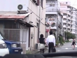 Japanese teen gives head