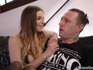 Colossal black dick making Stella Cox scream and beg for more