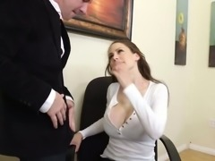 Super slut McKenzie Lee gets rammed hard right on the table